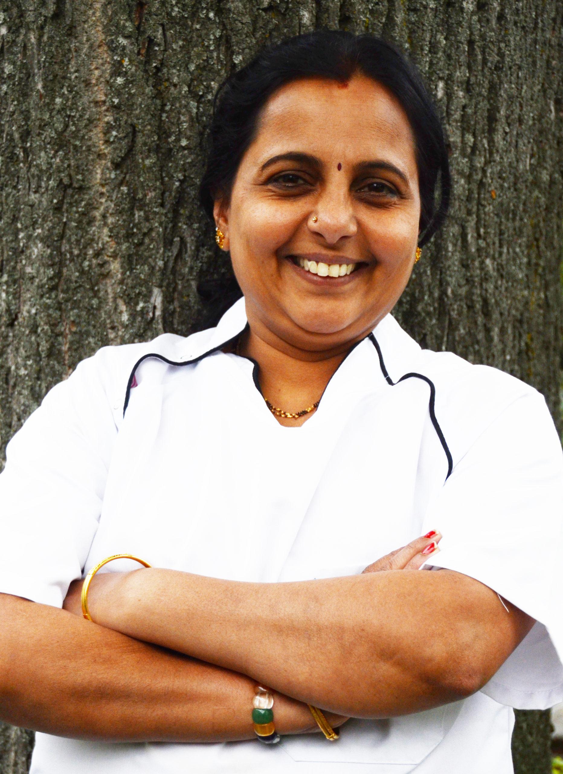 Radha Bhashyam Köchin für Indische Spezialitäten