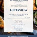 COVID19 LIEFERSERVICE Lieferung RESTAURANT-SCHUTZHAUS-AM-HEUBERG